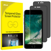 """JETech Privacy Screen Protector for iPhone 8/7 Plus 5.5"""" Tempered Glass 2-Pack"""