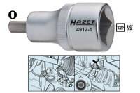 HAZET 4912-2 Aufspreizer Federbein Radlagergehäuse Traggelenk Spreizer Werkzeug