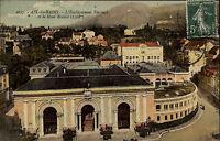 Aix-les-Bains Frankreich AK 1915 Établissement Thermal Thermalbäder Mont Revard