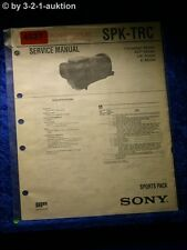Sony Service Manual SPK TRC Sports Pack (#4927)