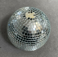 Spiegelkugel 18 cm Diskokugel Mirrorball Discokugel mit Echtglasfacetten