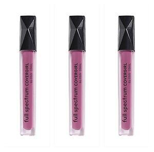 Covergirl Full Spectrum Gloss Idol Lip Gloss, FS187 Believe Me, 3 Pack
