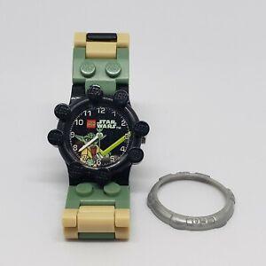 authentic LEGO watch accessory gear Yoda Clone Wars Star Wars 2010 sand green