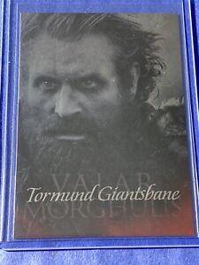 2015 Rittenhouse Game of Thrones Season 4 Valar Morghulis Tormund Giantsbane G17