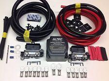 3mtr Split Carga relé Kit 12v 140amp inteligente M-power relé 110amp Cables