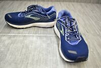 Brooks Ghost 12 1203051D413 Running Shoes, Women's Size 9.5D, Navy