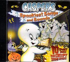 CASPER'S SPOOKIEST SONGS & SOUNDS: KIDS HALLOWEEN PARTY MUSIC & SOUND EFFECTS CD