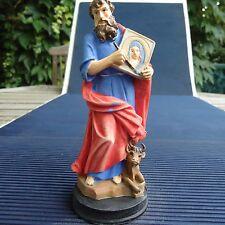 Saint Luc Superbes Reliefs & Détails 13 x 5 Cms -174 Grs - Collection Vitrine.