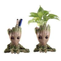 14CM Groot Guardians of The Galaxy Baby Figure Flowerpot Pen Pot Kids Toy Gifts