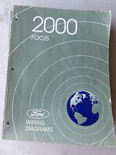 2000 FORD FOCUS OEM FACTORY WIRING DIAGRAMS