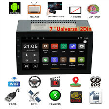 Android 8.0 7'' 4G WiFi Double 2Din Car Radio Stereo GPS Navi Multimedia Player