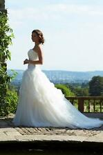 BNWT Wedding Dress 8 10 Ivory A-Line Strapless SAMPLE SUPERB CONDITION RRP £1250