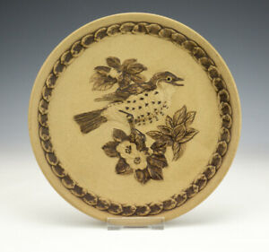 Poole Pottery Stoneware - The Song Thrush Plate - Limited Edition