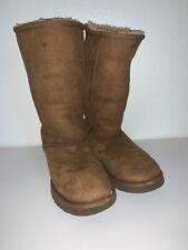 UGG Chestnut Suede Short Boots