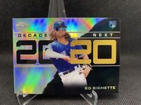 2020 Topps Chrome Update DECADE'S NEXT REFRACTOR #DNC-11 BO BICHETTE RC Rookie👀