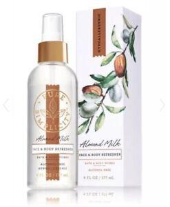 Bath and Body Works Hypoallergenic Pure Simplicity ALMOND MILK Refresher~6 fl.oz