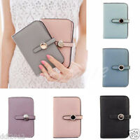 FASHION Womens Drawstring Short Wallet Leather Card Pack Coin Purse Handbag New
