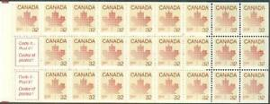 Canada 924a booklet (25+2),MNH. Beige.