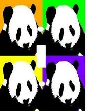 COLORFUL PANDA BEAR COLLAGE POP ART LIGHT SWITCH PLATE COVER HOME DECOR