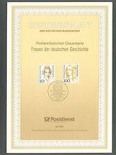Ersttagsblatt  1994  ,  Frauen der  deutschen  Geschichte