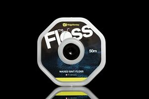 Ridgemonkey Connexion Waxed Bait Floss 50m Spool *New* - Free Delivery