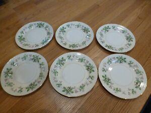 Homer Laughlin Eggshell Georgian GREENBRIAR (6) Dinner Plates