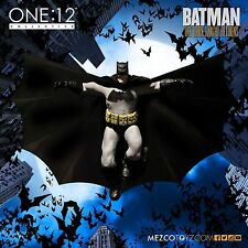 MEZCO ONE-12 Collective BATMAN DARK KNIGHT RETURNS in Black Action Figure