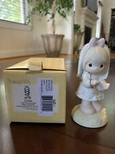 "New ListingPrecious Moments ""This Day Has Been Made In Heaven"" porcelain~Enecso 1989~Nib"