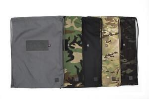 Aprilla Design Urban Cinch Sack AOR1, AOR2, Woodland, Grey,  Multicam Camouflage