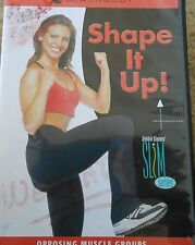 Slim Series Shape It Up Workout DVD in 6 Fitness Exercise Debbie Siebers Sculpt