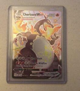 Shiny Charizard VMAX SV107/SV122 - Shining Fates Pokemon - Fat Pack