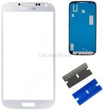 New Replacement Repair Screen Front Glass Outer lens For Samsung Galaxy S4 WHITE
