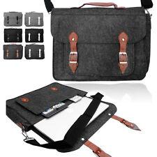 Smart Laptop Felt SATCHEL Case Bag Sleeve with Leather Handle for Apple Macbook