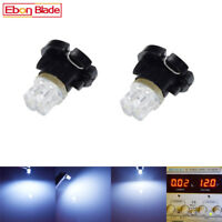 2 X White T4.2 2 LEDS Neo Wedge LED Cluster Instrument Dash Climate Light Bulbs