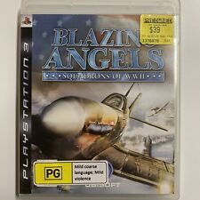 Blazing Angels Squadrons of WWII Sony PlayStation 2 (PS2) COMPLETE w/ manual