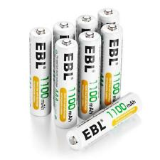 EBL 8 Pack AAA High Capacity Rechargeable Batteries 1100mAh Ni-MH 1.2V 1200 C...