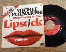 SP 45 tours  BOF Michel Polnareff Lipstick 1976 EXC