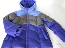 ae1ffad4ccd2 FALLS CREEK Girls PURPLE Fleece Lined Hooded Puffer Winter Jacket sz S new