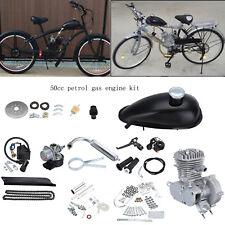 Benzina BICICLETTA Motorizzato Motore KIT 50cc 2-stroke stile 1.15Kw/5000r/min