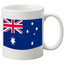 Australia Flag Ceramic Mug. 11oz Mug, Great Novelty Mug.