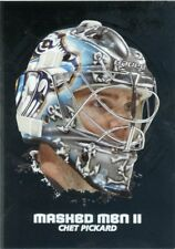 09/10 BETWEEN THE PIPES MASKED MEN II MASK SILVER #MM-15 CHET PICKARD *44350