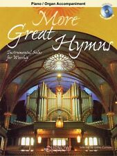 More Great Hymns Piano Accompaniment No CD Curnow Play-Along Book NEW 044005050