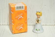 Enesco Growing Up Birthday Girls Blonde Age 2 Figurine Vintage 1981 E-2302