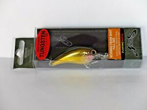 NORIES WORMING CRANK SHOT FULL SIZE Crankbait Lure - NATURAL GOLD