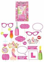 20pc Hen Party Photo Prop Set - Booth Selfie Props Set Party Wedding Night
