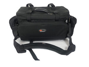 EXC++ LOWEPRO MAGNUM AW LARGE SHOULDER BAG BLACK, CLEAN, w/AW COVER