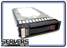 HPE AG803B M6412A 450GB 15000RPM 3.5INCH DUAL PORT FIBRE CHANNEL HARD DISK DRIVE