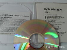 KYLIE MINOGUE - HITS + ( CD 2000) 16 TRACK WHITE SLIMLINE JEWEL CASE PROMO  USED