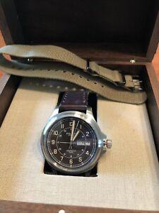 Filson Shinola Skagit Field Watch 40mm Made in USA!
