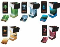5 x Ultra Pro UNHINGED Deck & Dice Boxes MANA ART SERIES Full Set mtg NEW